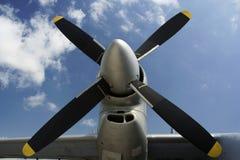 De close-up van de propeller stock afbeeldingen