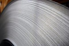 De Close-up van de Rol van het staal Royalty-vrije Stock Fotografie