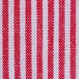 De close-up van de strepenstof, tafelkleedtextuur Stock Afbeeldingen