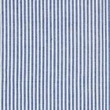 De close-up van de strepenstof, tafelkleedtextuur Stock Foto