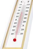 De close-up van de thermometer Stock Afbeeldingen