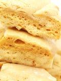 De Close-up van de Toffee van de sintel Stock Fotografie