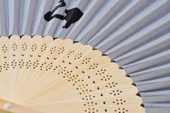 De Close-up van de Ventilator van de hand royalty-vrije stock foto's