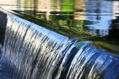 De close-up van de waterval Royalty-vrije Stock Afbeeldingen