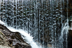 De Close-up van de waterval