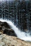 De Close-up van de waterval Stock Afbeeldingen