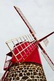 De close-up van de windmolen Stock Foto
