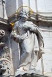 De close-up van een heilige met nam toe stock afbeelding