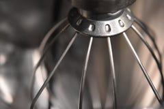 De close-up van een zilver zwaait stock foto