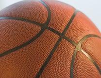 De close-up van het basketbal Royalty-vrije Stock Afbeeldingen