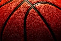 De close-up van het basketbal Stock Fotografie