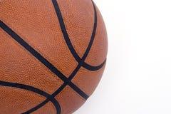 De close-up van het basketbal Stock Afbeeldingen