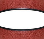 De Close-up van het basketbal met Copyspace Royalty-vrije Stock Afbeeldingen