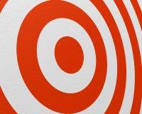 De close-up van het doel Stock Fotografie