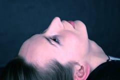 De Close-up van het gezicht Stock Foto