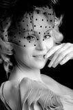 De close-up van het gezicht/sexy Royalty-vrije Stock Fotografie