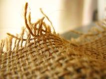 De close-up van het linnen stock fotografie