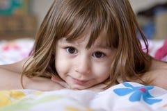 De Close-up van het meisje Stock Foto's