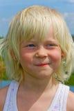 De close-up van het meisje royalty-vrije stock afbeeldingen