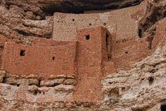 De Close-up van het Montezumakasteel royalty-vrije stock foto's