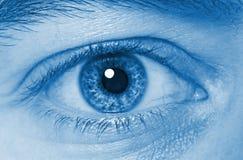 De close-up van het oog Royalty-vrije Stock Afbeelding