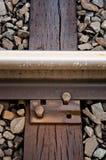 De Close-up van het spoor Stock Foto