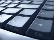 De close-up van het toetsenbord royalty-vrije stock afbeeldingen