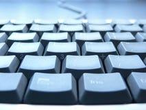 De close-up van het toetsenbord stock fotografie