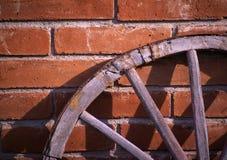 De Close-up van het Wiel van de wagen Stock Afbeelding