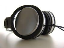 De Close-up van hoofdtelefoons stock fotografie