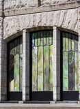 De close-up van Oregon van het uitzichthuis Stock Foto's