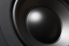 De close-up van Subwoofer Stock Afbeeldingen
