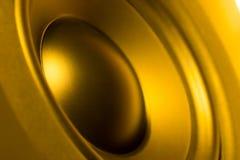 De close-up van Subwoofer Royalty-vrije Stock Afbeelding