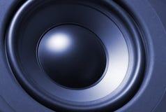 De close-up van Subwoofer Stock Afbeelding