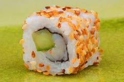 De close-up van sushi Stock Afbeeldingen
