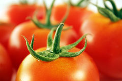 De close-up van tomaten Royalty-vrije Stock Afbeeldingen