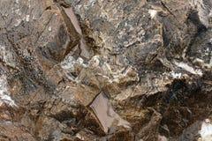 De close-uphulp van de rotsen royalty-vrije stock foto