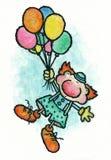 De clown Royalty-vrije Stock Afbeelding