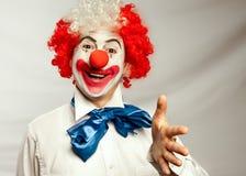 De clown van de handdruk Royalty-vrije Stock Foto