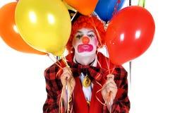 De clown van de viering stock foto's