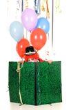 De clown van de viering stock afbeelding