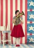 De Clown van het circus Royalty-vrije Stock Afbeeldingen