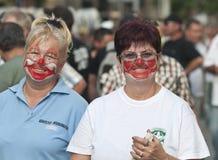 De clown van vrouwen Stock Afbeelding