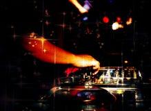 De club van de de Muzieknacht van DJ stock foto