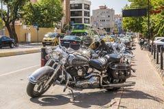 De club van de motorfietsenfiets in Istanboel Royalty-vrije Stock Fotografie