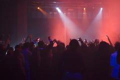 De club van de nacht Stock Afbeelding