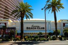 De Club van het encorestrand, Las Vegas, NV stock afbeeldingen
