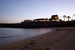 De club van het strand stock foto's