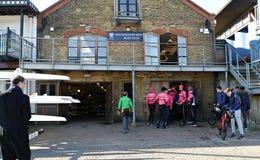 De Club van de de Jongens` s Boot van Westminster in Putney Londen het UK royalty-vrije stock foto's