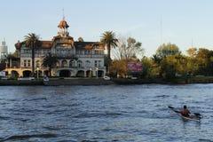 De club van La Marina Rowing royalty-vrije stock foto